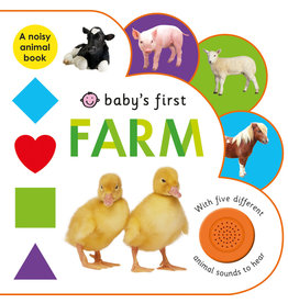 MacMillan Baby's First Sound Book: Farm