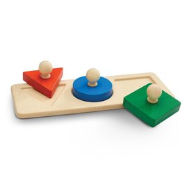 Plan Toys, Inc Shape Matching Puzzle