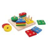 Plan Toys, Inc Geometric Sorting Board