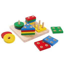 Plan Toys, Inc Geometric Sorting Board
