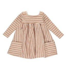 Vignette Rylie Long Sleeve Dress, Sable