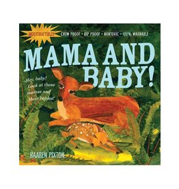 Workman Publishing Indestructibles: Mama And Baby!