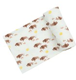Angel Dear Bison Buffalo Gold Swaddle Blanket 45X45