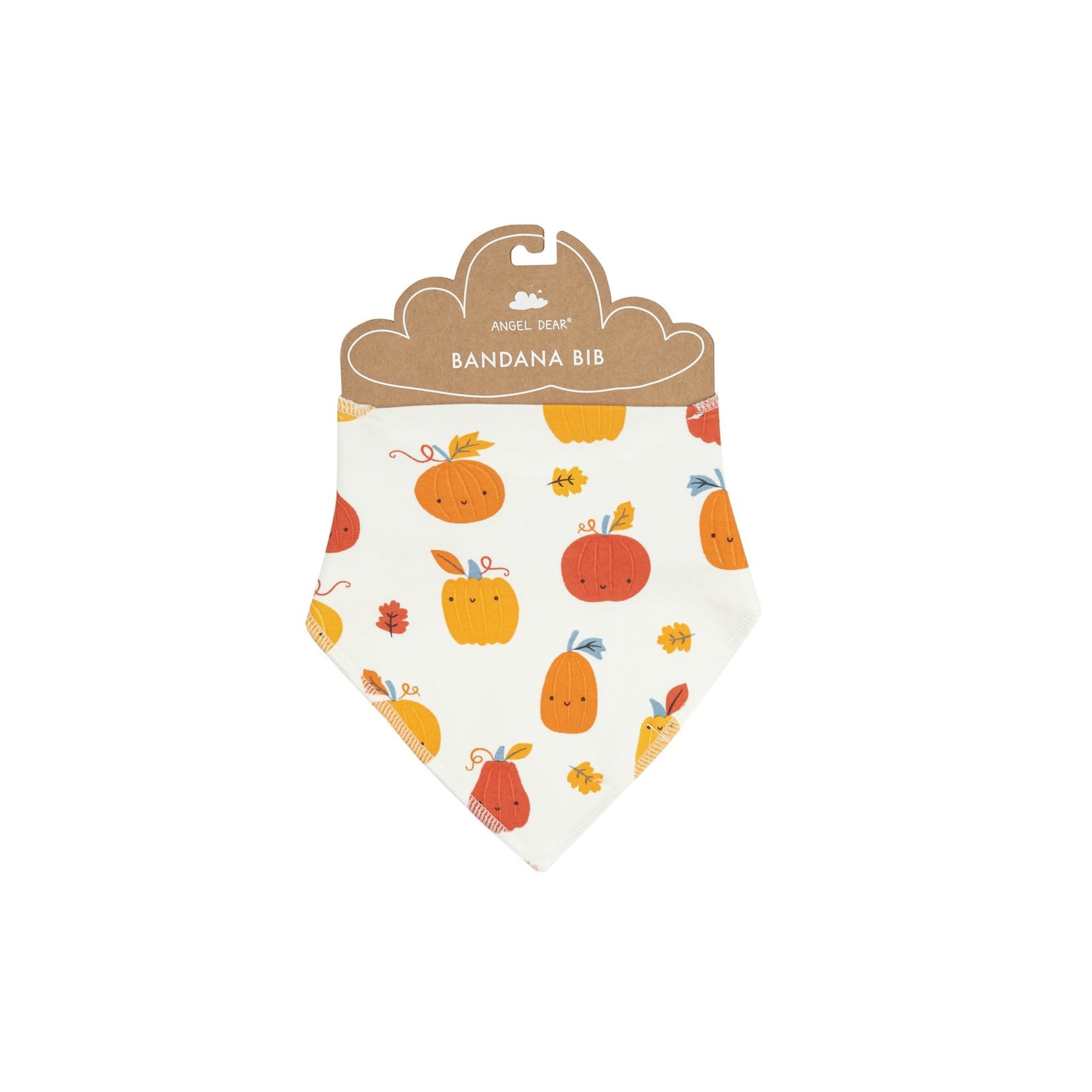 Angel Dear Bandana Bib, Pumpkin Patch