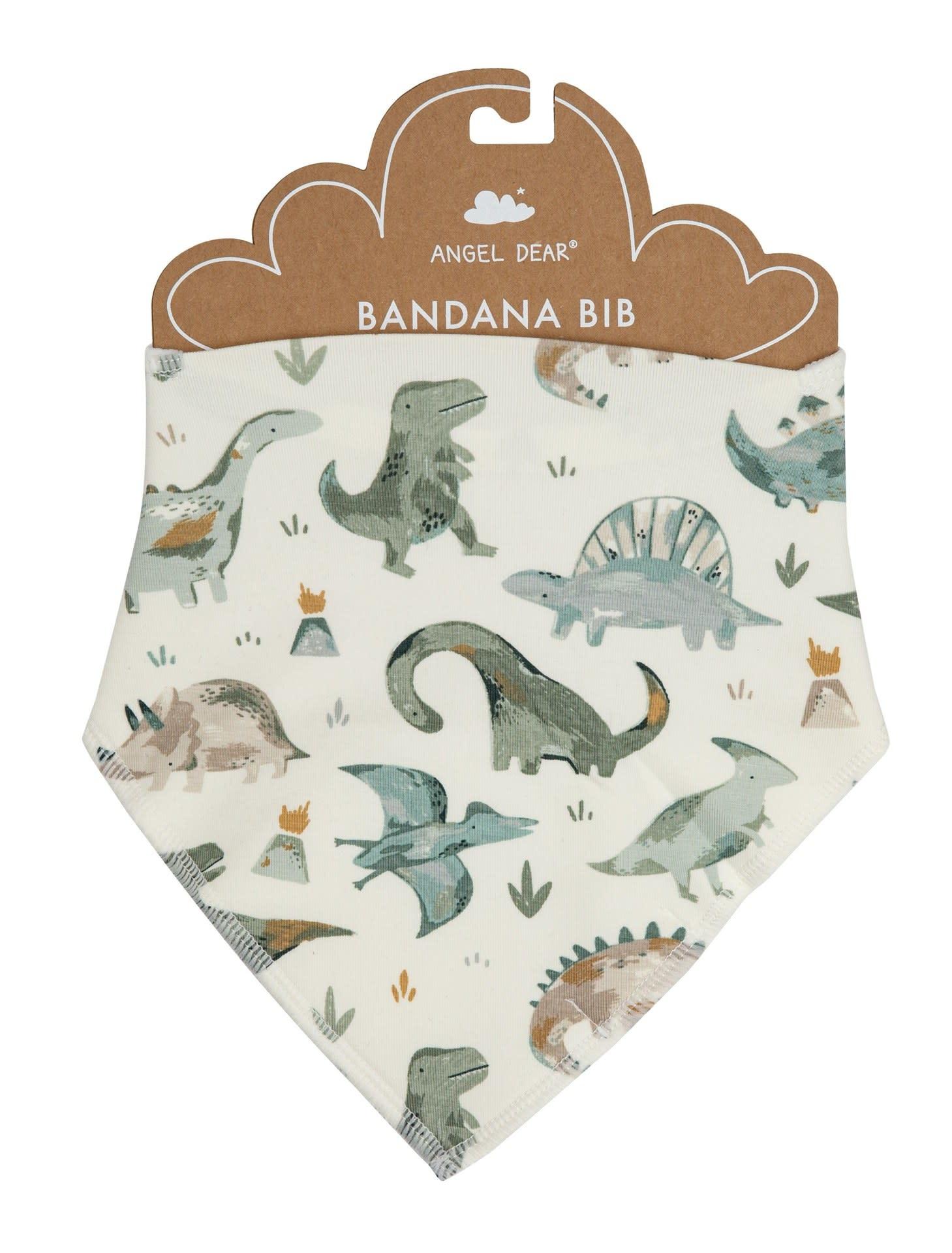 Angel Dear Bandana Bib, Crayon Dinosaur