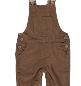 Me + Henry Brown Corduroy Overalls, Baby
