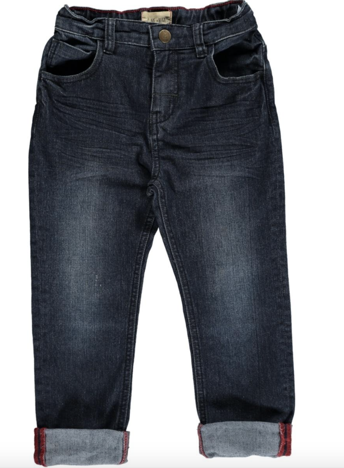 Me + Henry Navy Slim Fit Denim Jeans, Boys