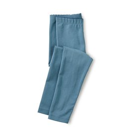 Tea Collection Solid Leggings - Agean Blue