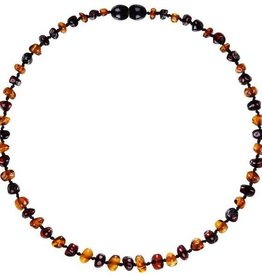 Powell's Owls 12.5'' Baroque Cognac/Cherry Amber Necklace