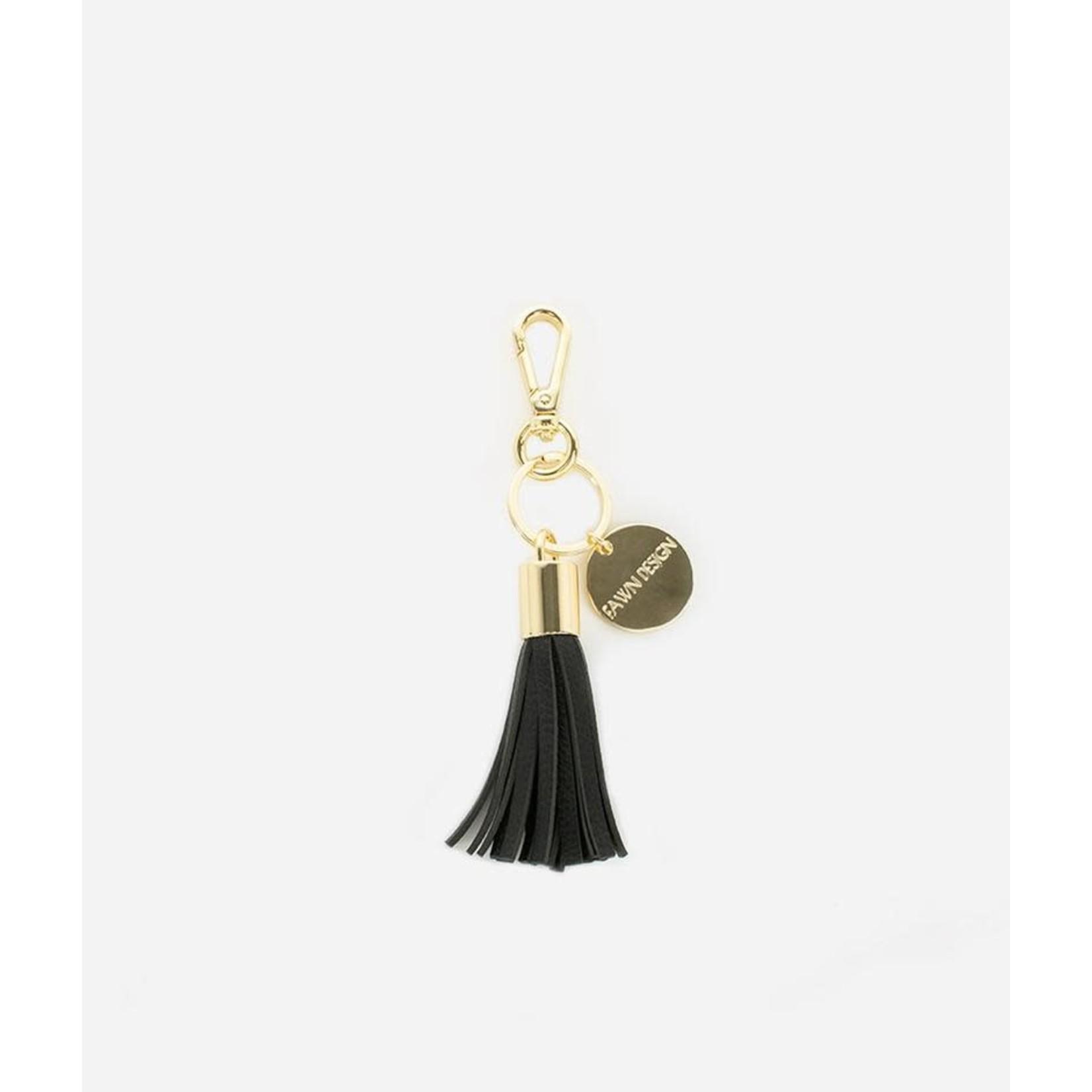Fawn Design The Tassel Keychain, Black