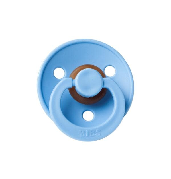Mushie & Co Bibs Pacifier, Sky Blue