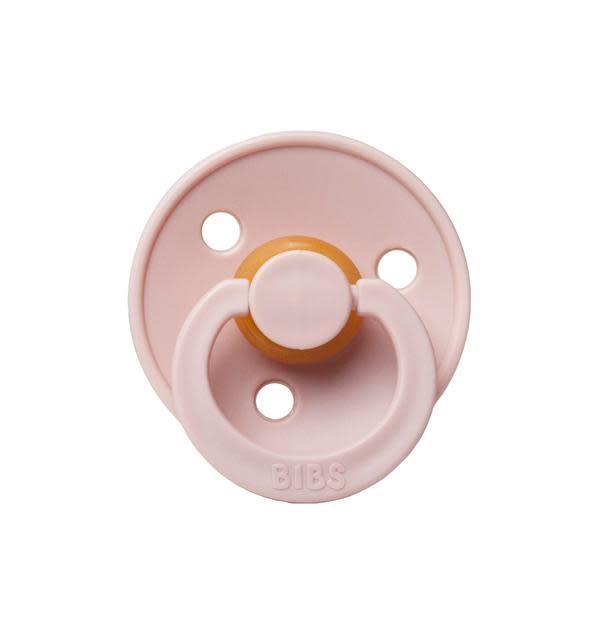 Mushie & Co Bibs Pacifier, Blush Size 2