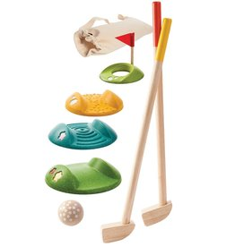 Plan Toys, Inc Mini Golf (Full Set)