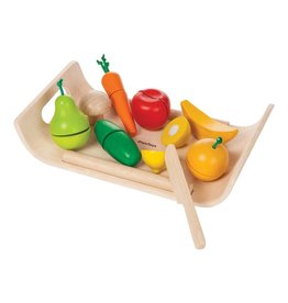 Plan Toys, Inc Assorted Fruit And Vegetable