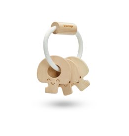 Plan Toys, Inc Baby Keys - Natural