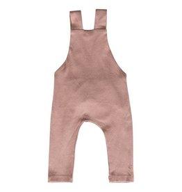 Mebie Baby Cotton Overalls - Blush