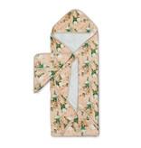 Lou Lou Lollipop Hooded Towel Set - Blushing Protea