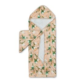 Lou Lou Lollipop Hooded Towel Set - Blushing Protea