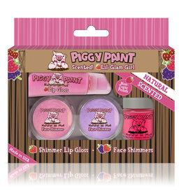 Piggy Paint Set, Lil Glam Girl Kit