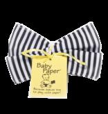 Baby Paper Baby Paper - Black/White Stripe