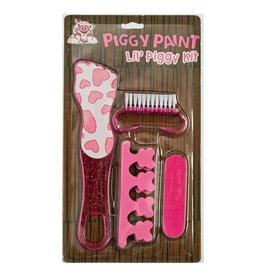 Piggy Paint Set, Pedicure Set