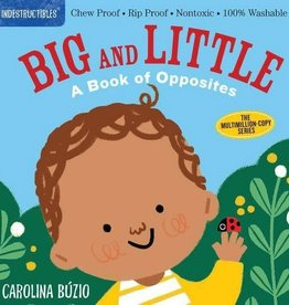 Workman Publishing Indestructibles: Big and littleOpposites