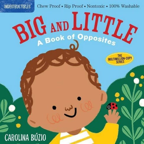 Workman Publishing Indestructibles: Big and littleOpposites