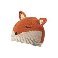 Millymook and Dozer Baby Boys Beanie - Fox Rust S (0-12m)