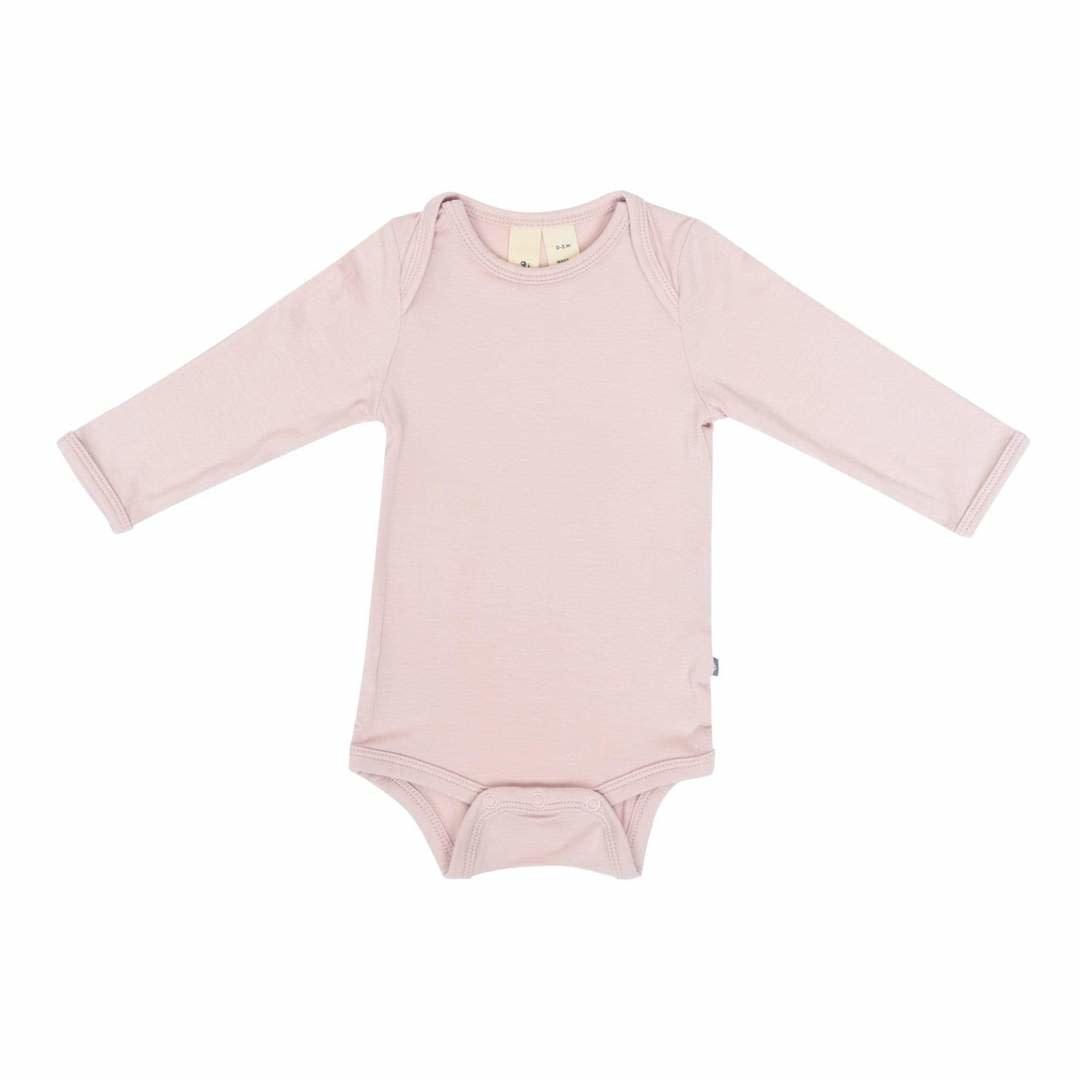 Kyte Baby Long Sleeve Bodysuit in Blush