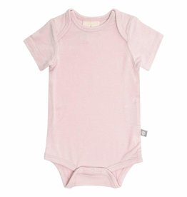Kyte Baby Short Sleeve Bodysuit in Blush