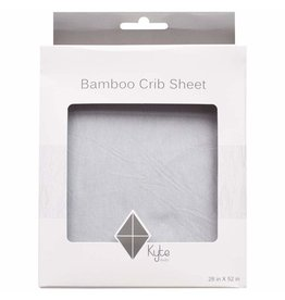 Kyte Baby Crib Sheet in Storm