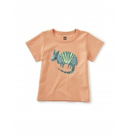 Tea Collection Desert Armadillo Graphic Tee - Shell Coral