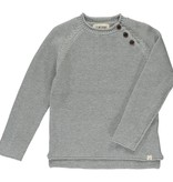 Me + Henry Grey Cotton Sweater
