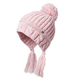 Millymook and Dozer Girls Beanie Peru - Suki Blush (OS 2-7y)