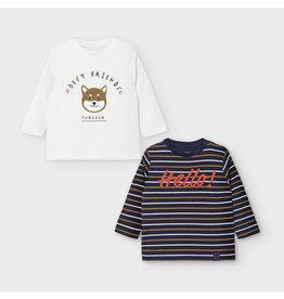 Mayoral Long Sleeve Baby Shirts Set