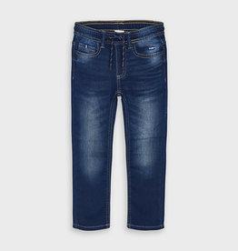 Mayoral Soft Denim Elastic Waist Jean