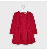Mayoral Dress for Girls - Carmine Red
