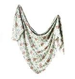 Copper Pearl Knit Blanket - Bear