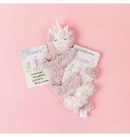 Slumberkins Rose Unicorn Snuggler Bundle