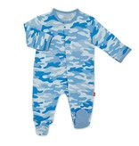 Magnetic Me Blue Camo Modal Footie