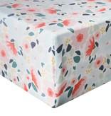 Copper Pearl Premium Crib Sheet Leilani