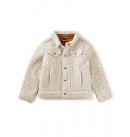Tea Collection Sherpa Trucker Jacket - Birch