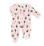 Magnetic Me Just Like Mom Organic Cotton Magnetic Footie