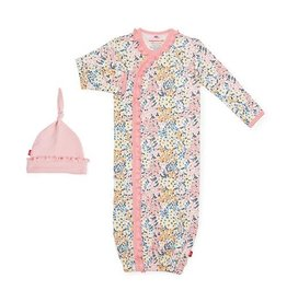Magnetic Me Chelsea Organic Magnetic Sack Gown Set NB-3M
