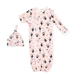 Magnetic Me Just Like Mom Organic Magnetic Sack Gown Set NB-3M