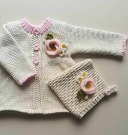 Huggalugs Natural Poppy Sweater