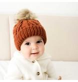 Huggalugs Chili Pop Pom Pom Beanie Hat