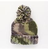 Huggalugs Camo Army Green Beanie Hat