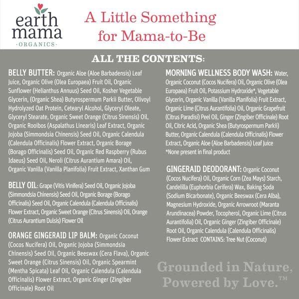 Earth Mama Organics A Little Something for Mama Gift Set