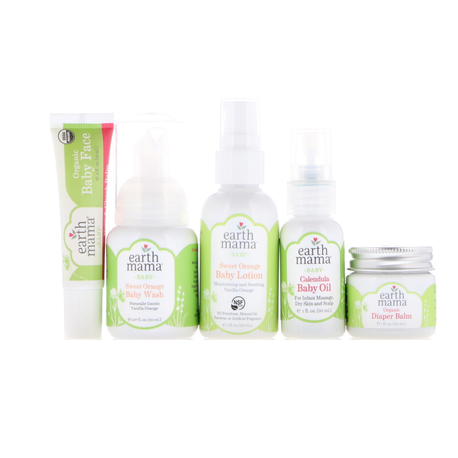 Earth Mama Organics A Little Something for Baby Gift Set